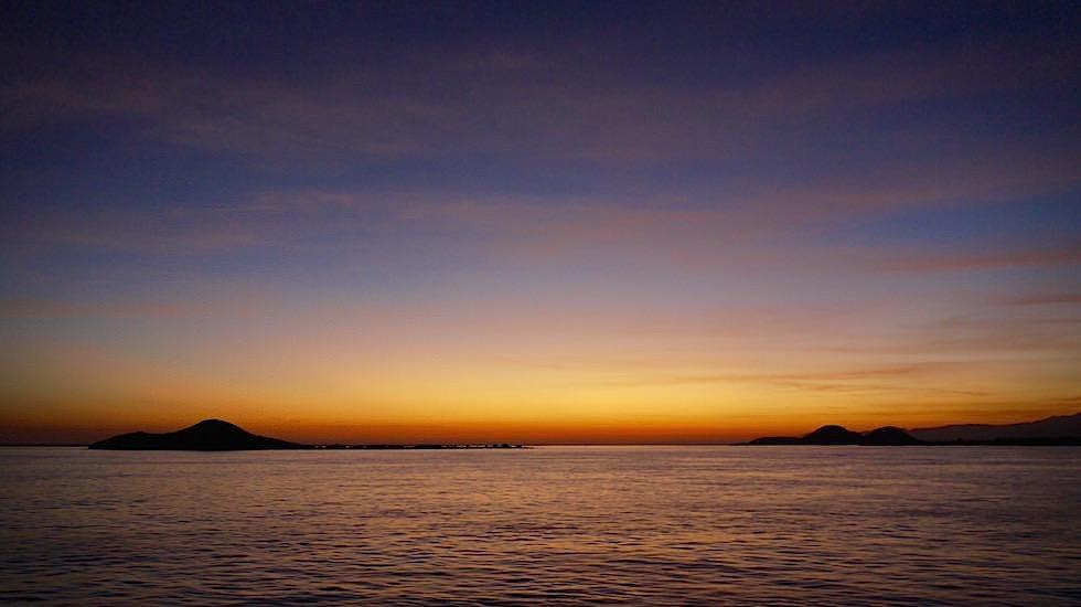 Sonnenaufgang Sumbawa Fähre