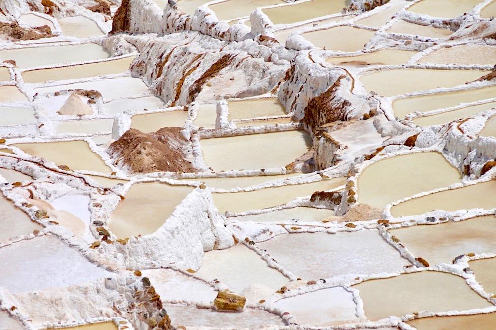 Salineras de Maras - 3000 Salzbecken & viele steile Salzterrassen - Tagesausflug von Cusco ins Valle de Sagrado - Peru