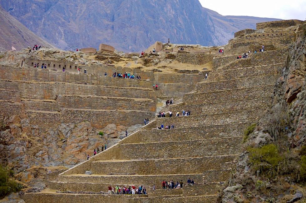 Ollantaytambo - Aufstieg & Terrassen - Valle de Sagrado: Tagesausflug von Cuso - Peru