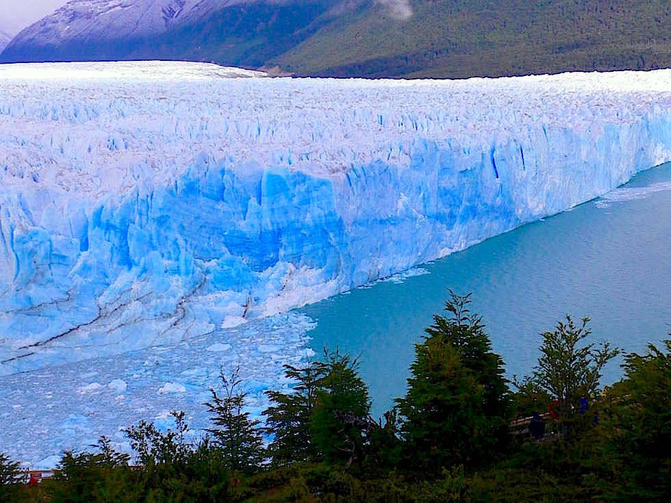 Eisbrücke Perito Moreno Gletscher - Patagonien , Argentinien