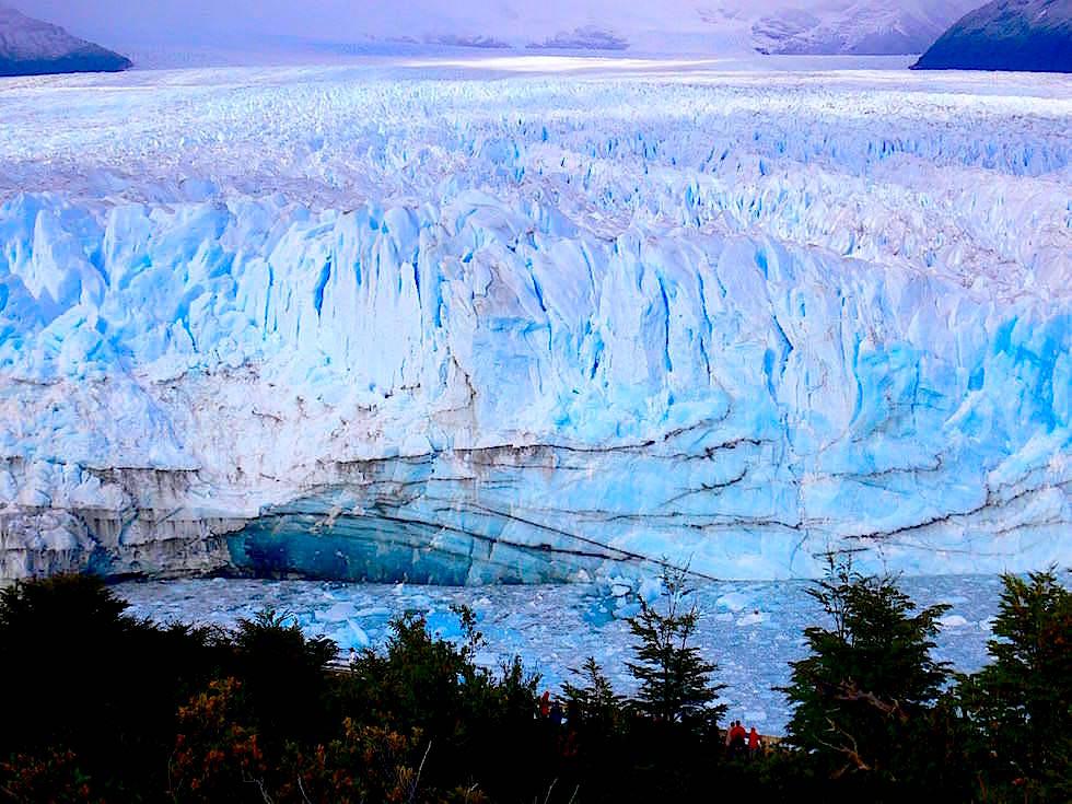 Aussichtsplattform Perito Moreno Gletscher - Patagonien , Argentinien