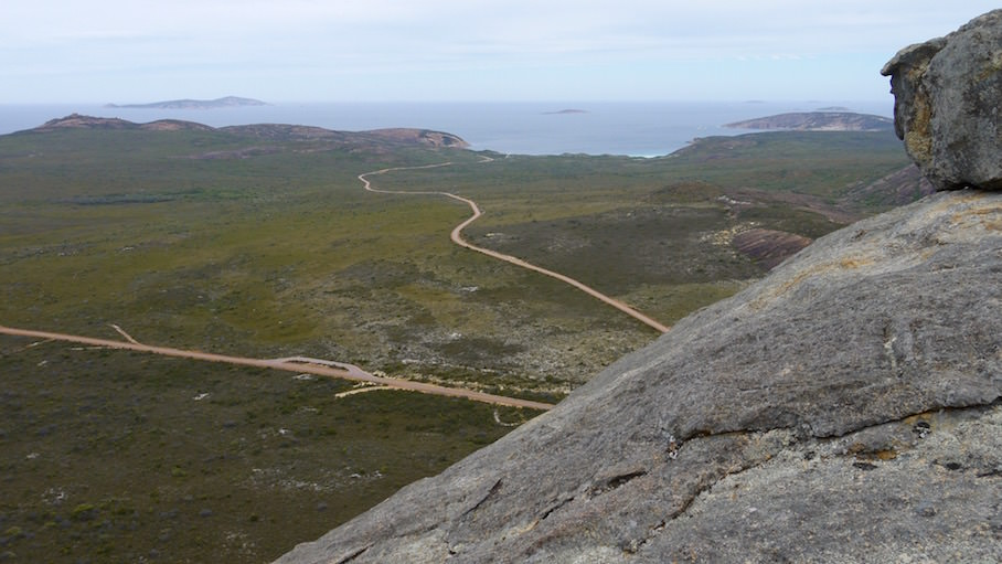 View from Frenchmans Peak - Le Grand National Park Western Australia