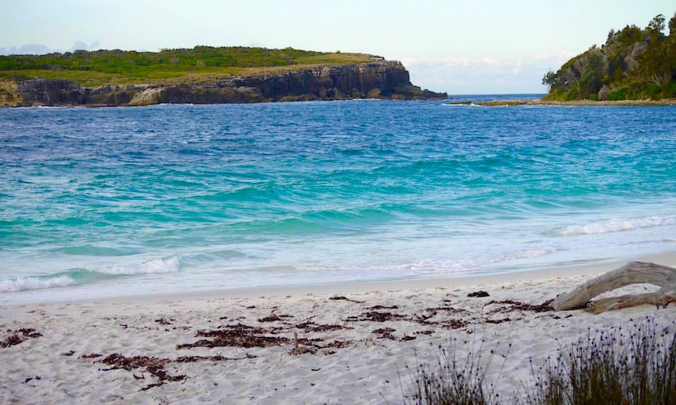 Booderee National Park und Bowen Island - weißer Sand - Jervis Bay in New South Wales Australia