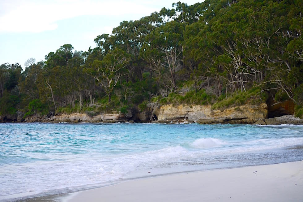 Booderee National Park - weißer Sand - Jervis Bay in New South Wales Australia