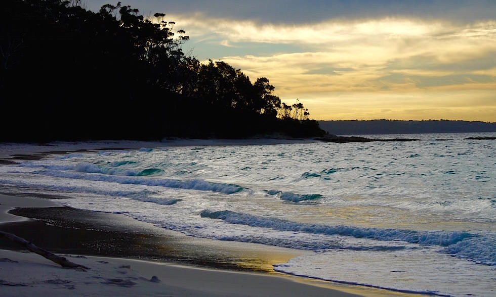 Booderee National Park bei Sonnenuntergang - Jervis Bay in New South Wales Australia
