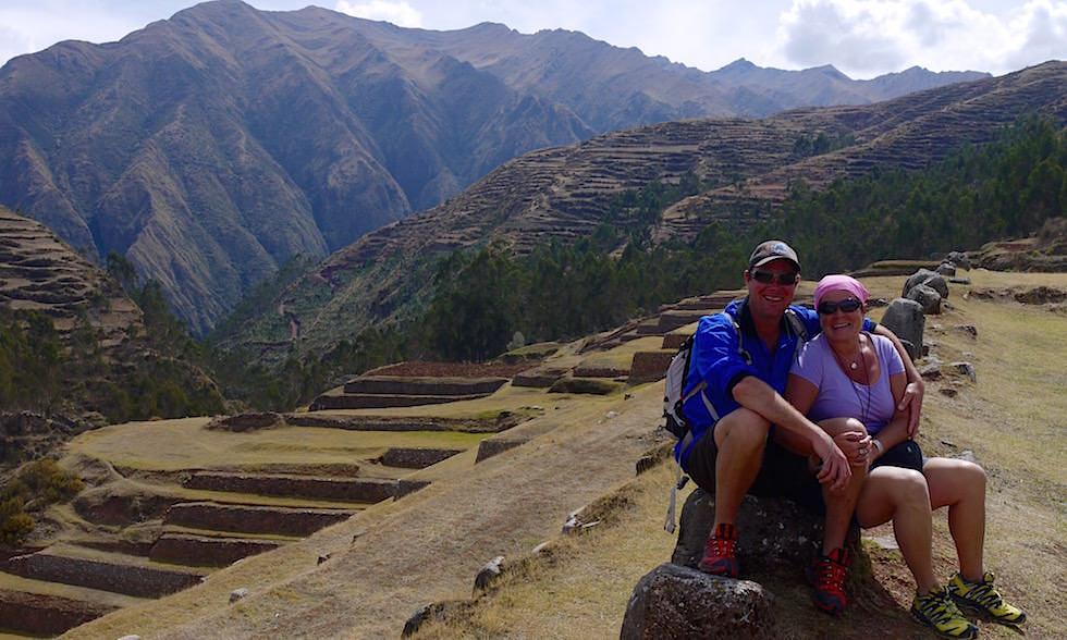 Valle de Sagrado - Chinchero: Ausblick vom Geburtsort des Regenbogens - Highlights bei Cusco - Peru