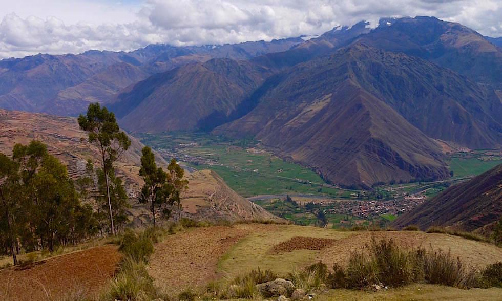 Valle Sagrado de los Incas - Blick ins heilige Tal der Inkas - Hightlights bei Cusco - Peru