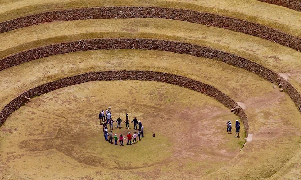 Moray: spirituelles Kraftzentrum - Highlights einer Valle de Sagrado Tour zu den Schätzen der Inkas - Cusco - Peru