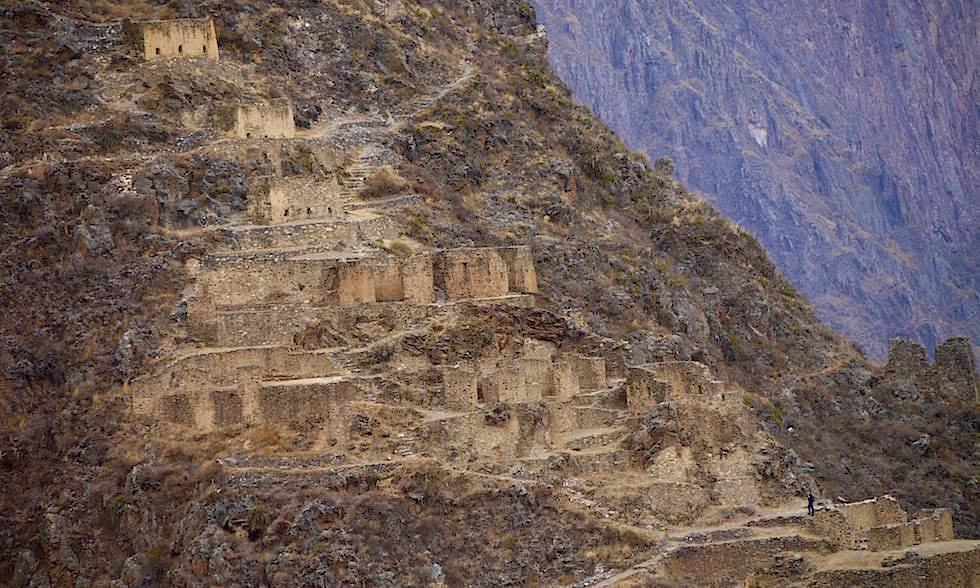Lagerhäuser von Ollantaytambo - Sacred Valley oder Valle Sagrado Highlights - Cusco Ausflüge - Peru