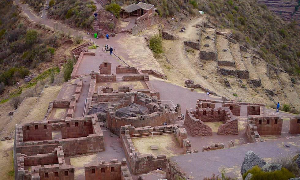 Pisac: eindrucksvolle Tempelanlage im Valle Sagrado - Highlights im Heiligen Tal bei Cusco - Peru