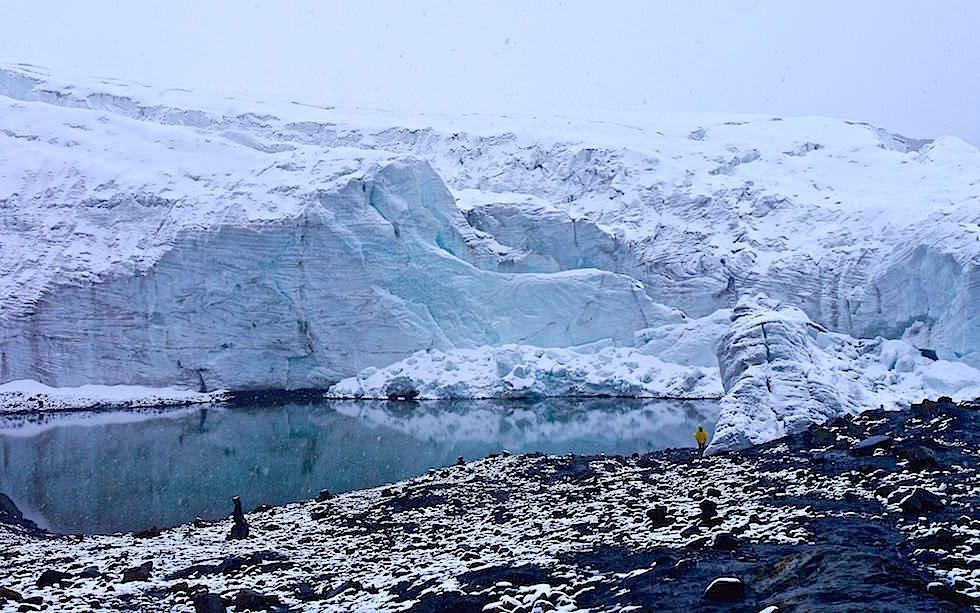 Pastoruri Gletscher - Nationalpark Huascaran - Huaraz - Peru