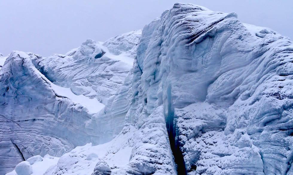 Nevado Pastoruri Gletscherwand - Nationalpark Huascaran - Huaraz - Peru