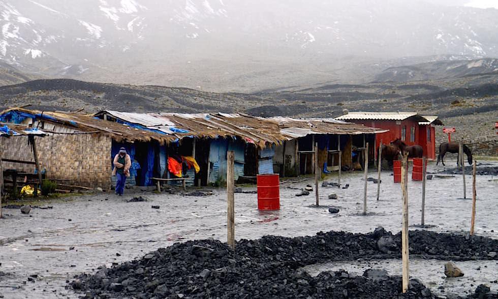 Pastoruri Gletscher Parkplatz - Nationalpark Huascaran - Huaraz - Peru