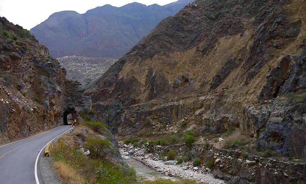 Canon del Pato - Entenschlucht - von Caraz nach Chimbote in Peru