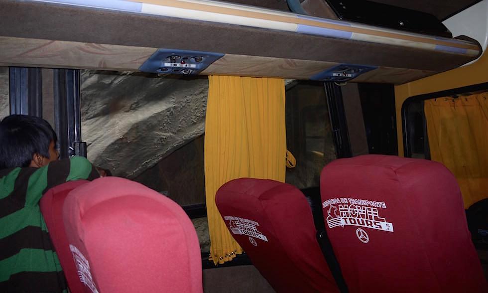 Manöver - Canon del Pato - Entenschlucht - von Caraz nach Chimbote in Peru