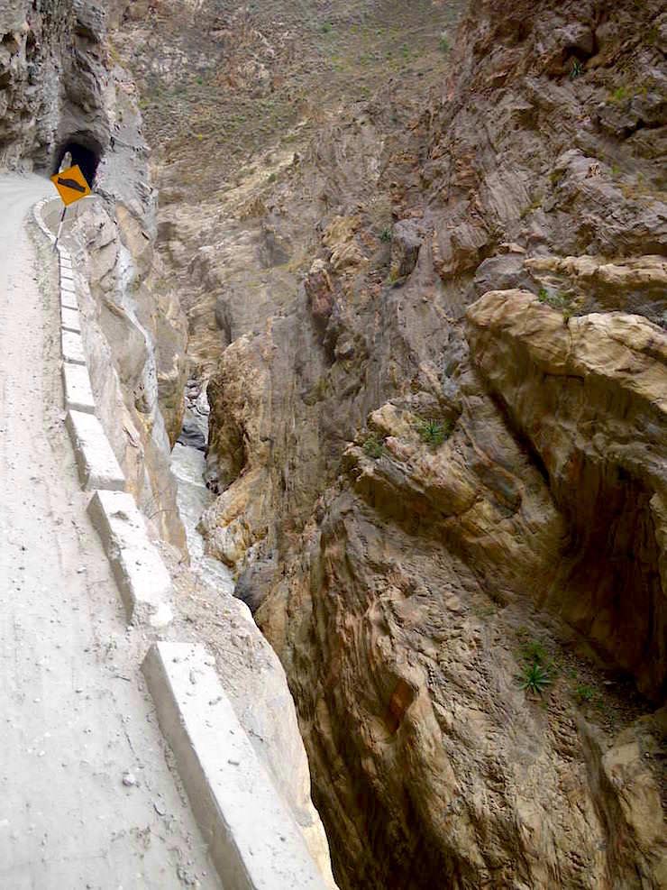 Atemberaubend - Canon del Pato - Entenschlucht - von Caraz nach Chimbote in Peru