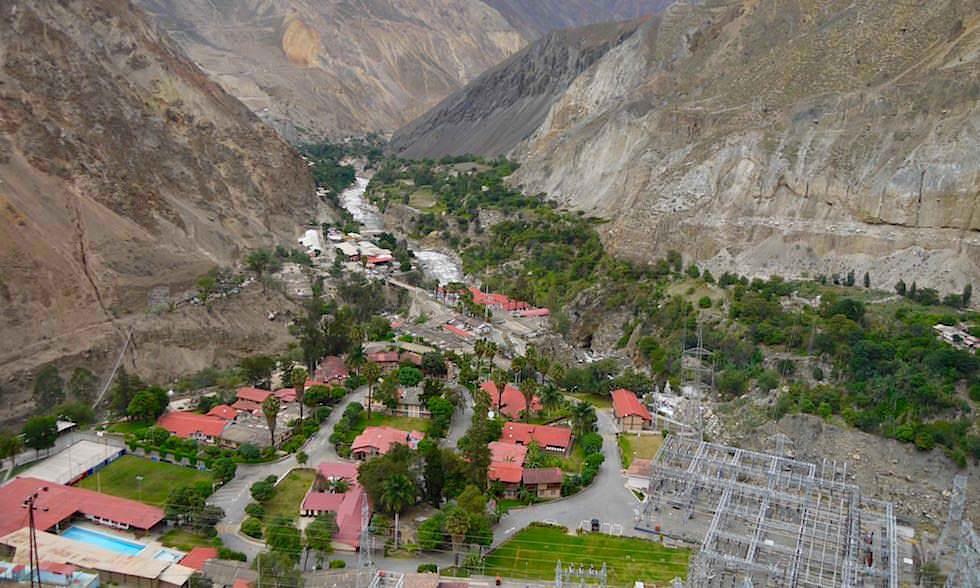 Huallanca - Canon del Pato - Entenschlucht - von Caraz nach Chimbote in Peru