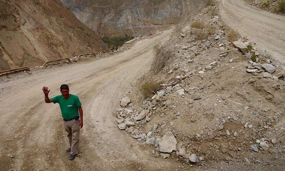 Serpentinen - Canon del Pato - Entenschlucht - von Caraz nach Chimbote in Peru