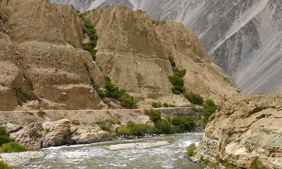 von Huaraz - Caraz nach Chimbote in Peru