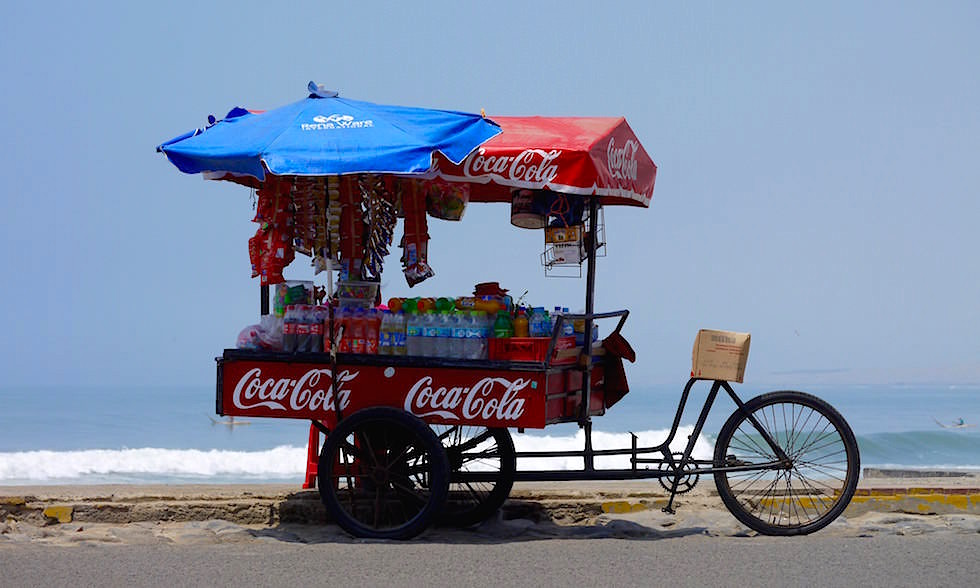 Huanchaco - Stand am Meer -Peru