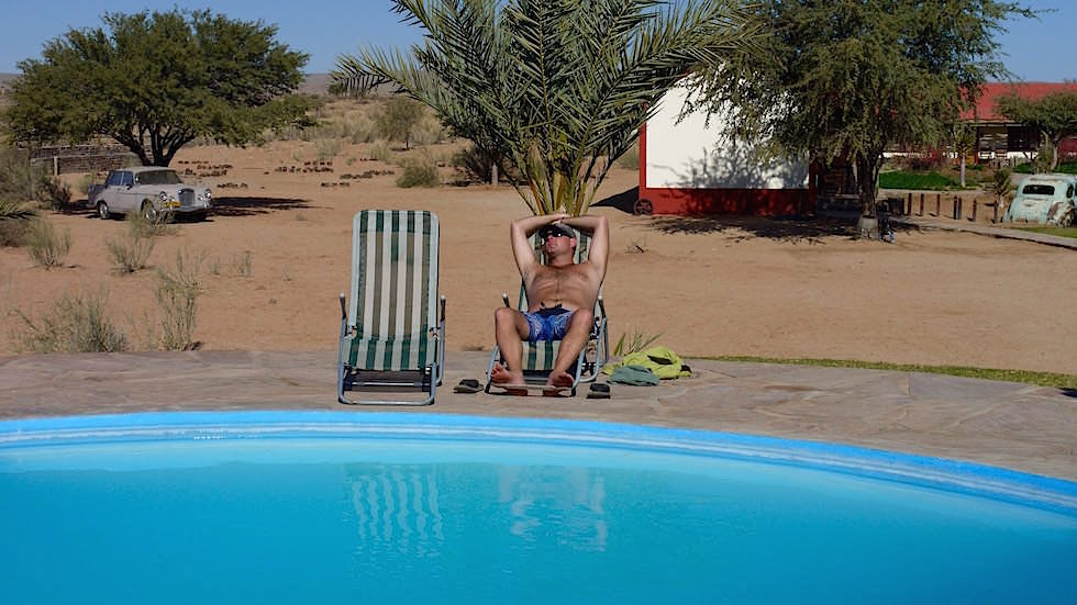 Pool - Canyon Roadhouse Namibia Afrika