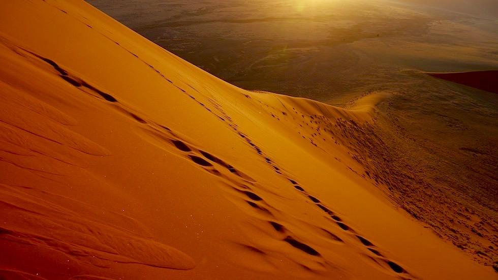 Sonnenaufgang von Dune 45 - Namib Wüste - Die schönsten Namibia Sanddünen - Afrika
