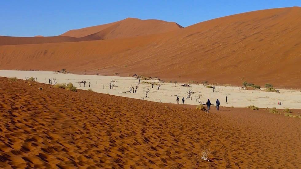 Deadvlei - Sanddünen in der Namib Wüste - Namibia, Afrika