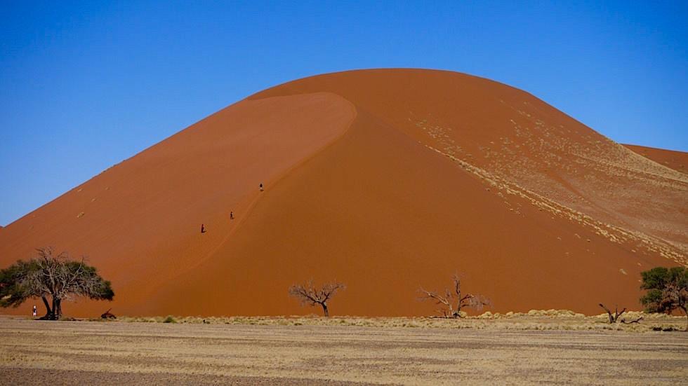 Sanddünen Namib Sossusvlei - Die schönsten Namibia Sanddünen - Afrika
