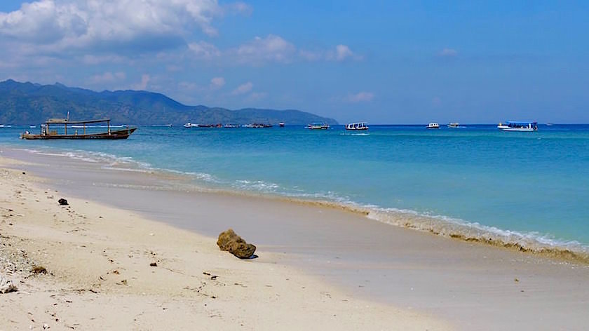 Gili Meno Strand - Indonesien