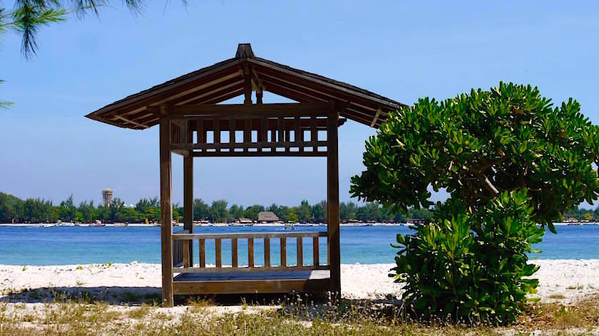 Romantik Strand - Gili Meno Indonesien
