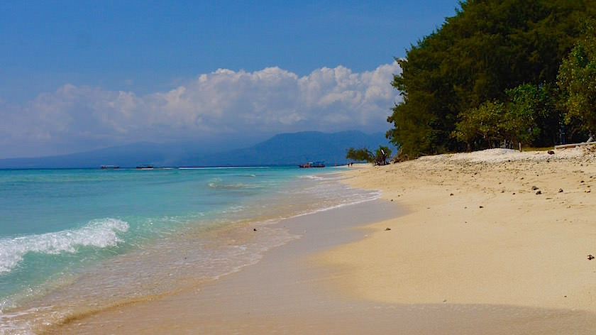 Beach Gili Meno Insel Indonesien