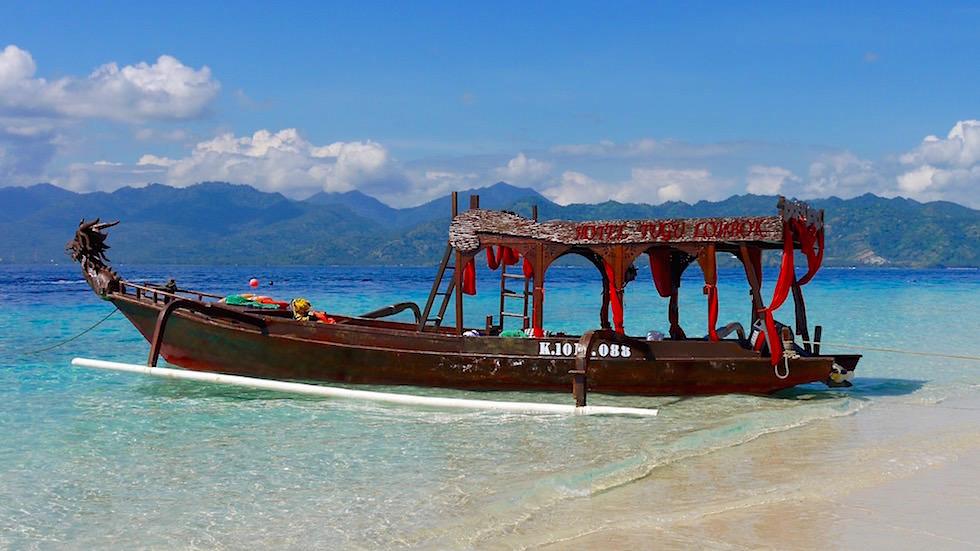 Gili Meno Insel bei Lombok Indonesien