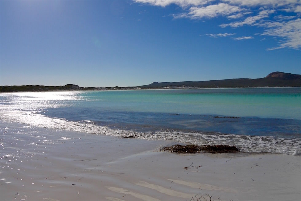 Strandspaziergang - Lucky Bay - Cape Le Grand - Western Australia