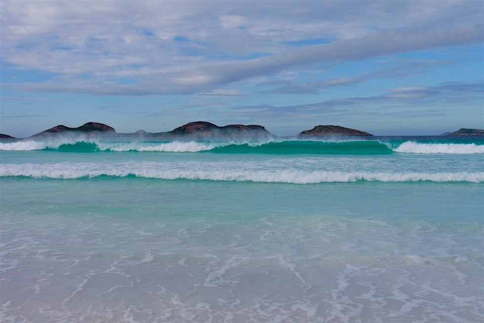 Wellen - Lucky Bay - Cape Le Grand - Western Australia