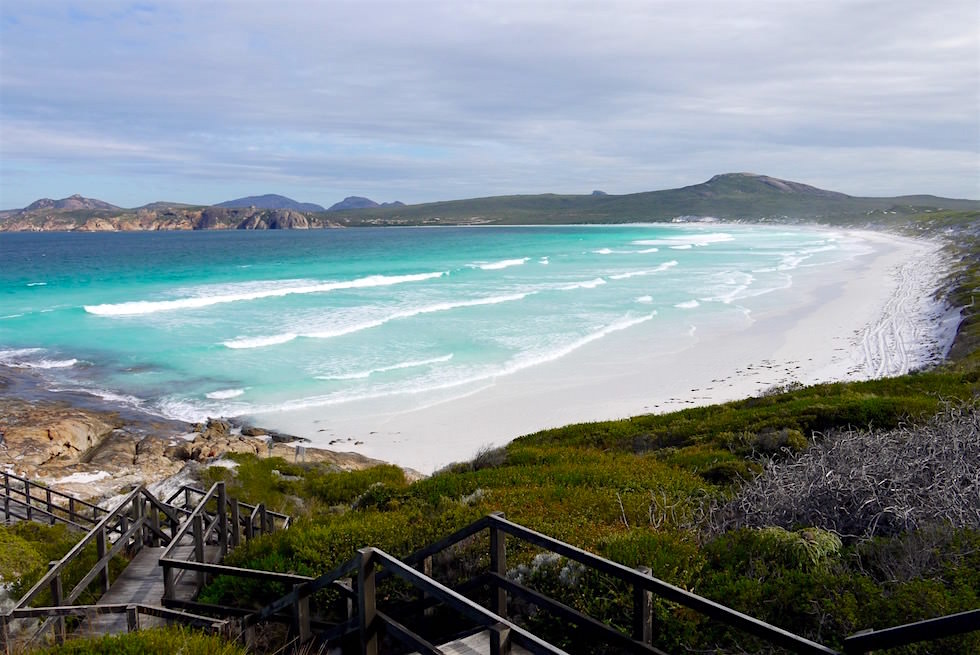 Blick vom Lookout an der Lucky Bay - Cape Le Grand - Western Australia