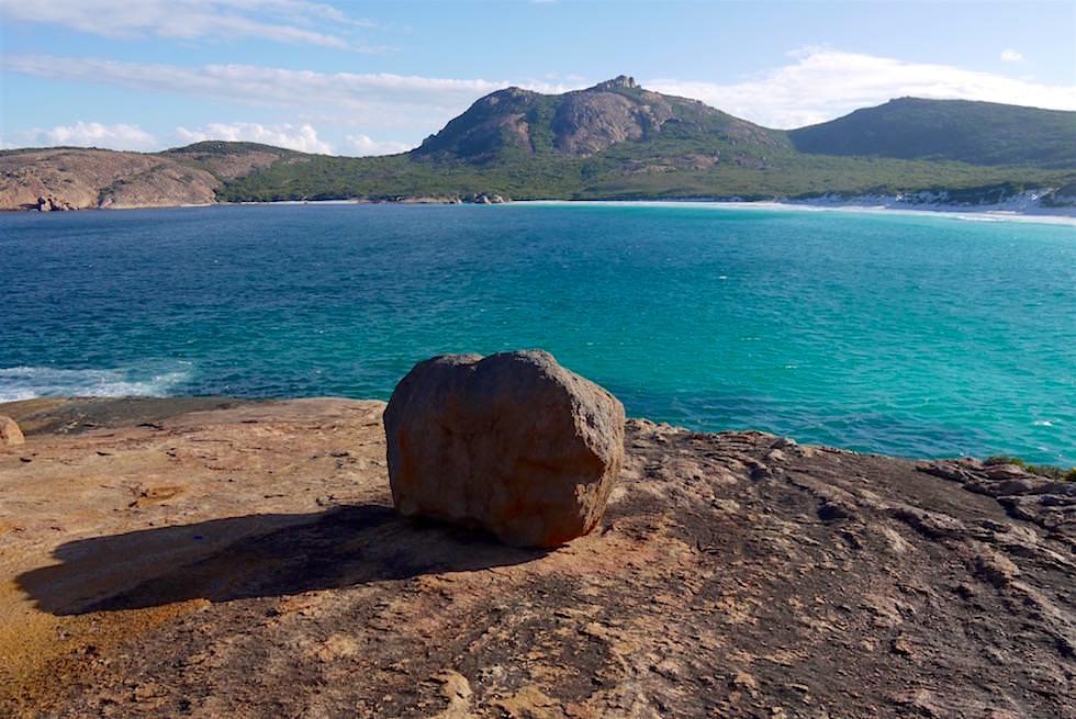Thistle Cove - Felsen und Ausblick auf Mt Le Grand - Cape Le Grand - Western Australia