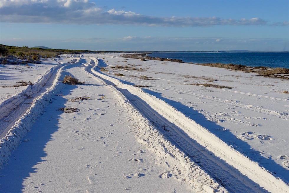 Schneeweißer Strand an der Rossiter Bay - Cape Le Grand - Western Australia