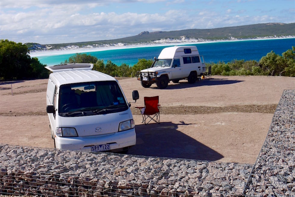 Campground Lucky Bay - Cape Le Grand - Western Australia