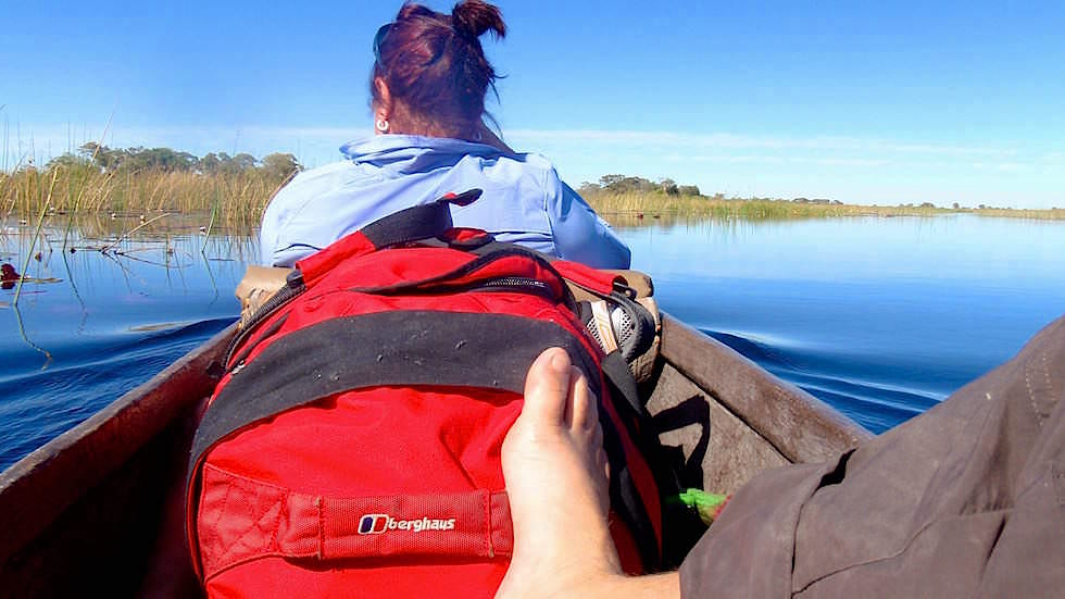 Okavango Delta Moroko Tour - Einbaum Botswana Afrika