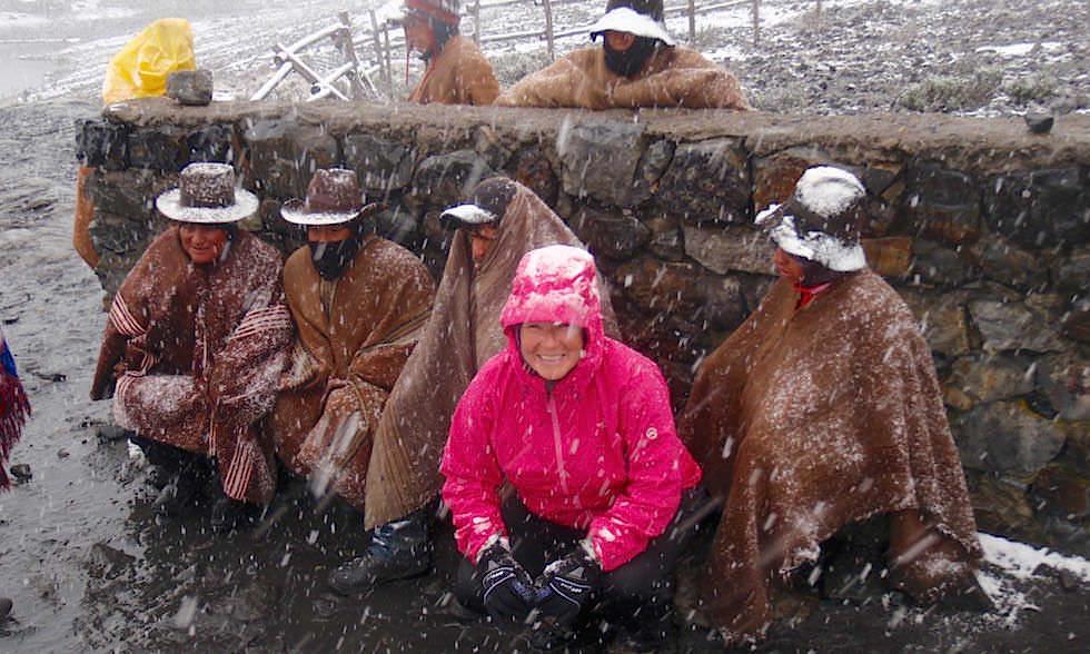 Nevado Pastoruri - Aufstieg zum Gletscher- Nationalpark Huascaran - Huaraz - Peru