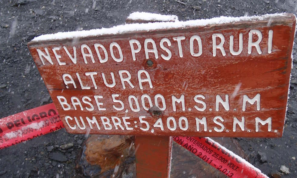 Nevado Pastoruri- Nationalpark Huascaran - Huaraz - Peru