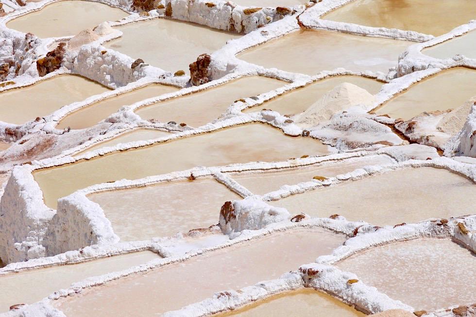 Salinera de Maras - Beeindruckende Salzterrassen im Valle Sagrado - Inka Stätten & Highlights bei Cusco - Peru