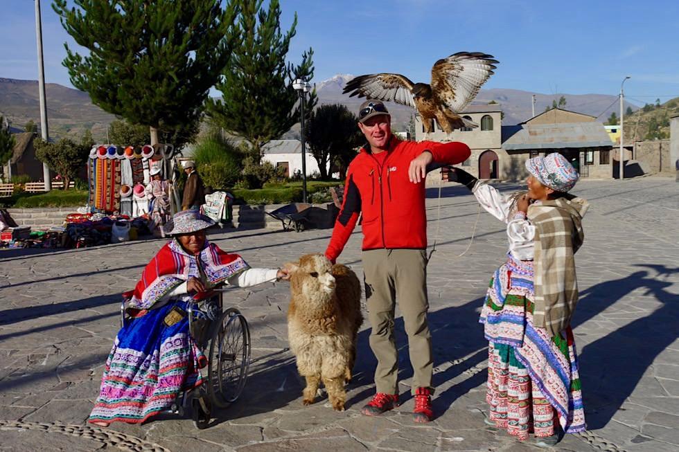 Chivay & Yanque - Brauchtum & Turismus - Auf dem Weg zum Colca Canyon - Peru