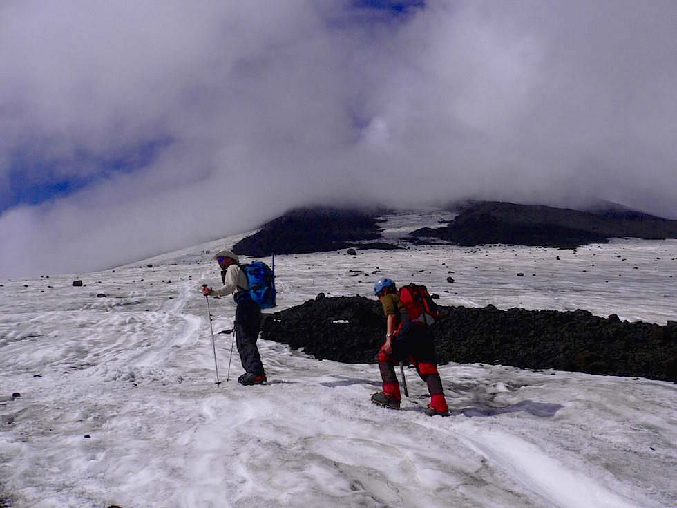 Aufstieg Vulkan Villarrica - Pucon - Chile