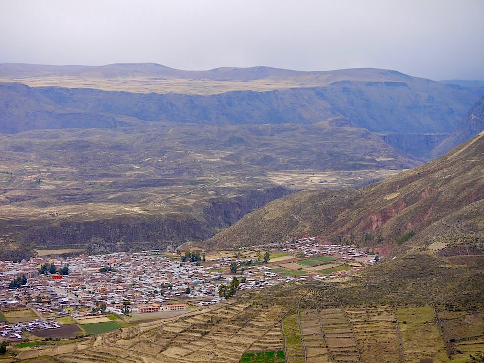 Chivay Colca Canyon - Peru