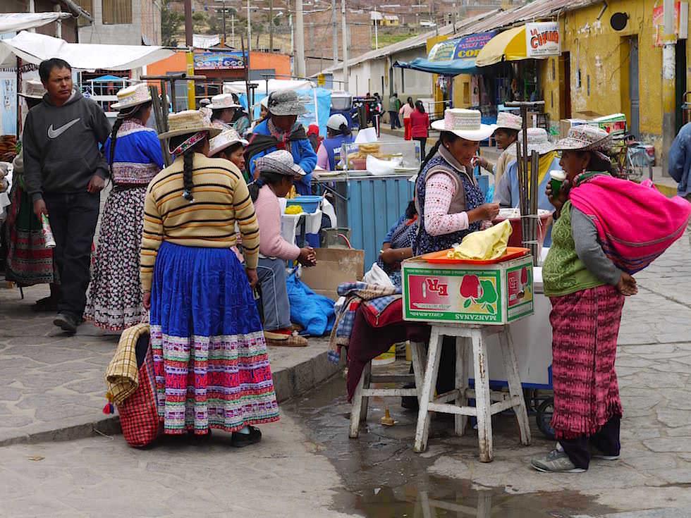 Colca Canyon Chivay Market Peru