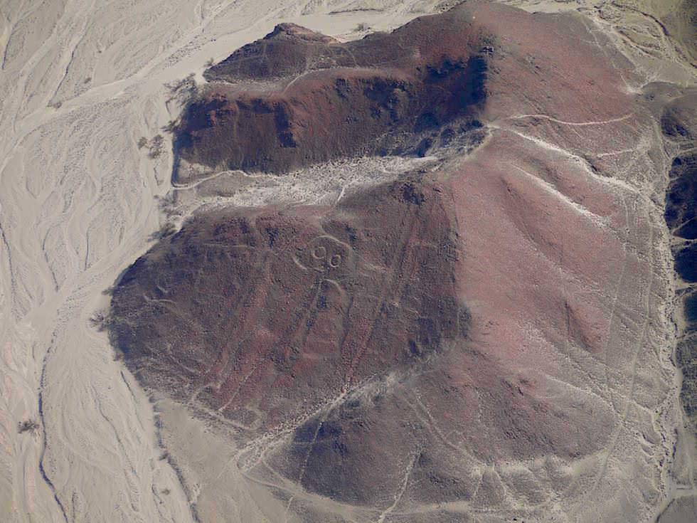 Astronaut Nasca Lines Nasca Wüste Peru
