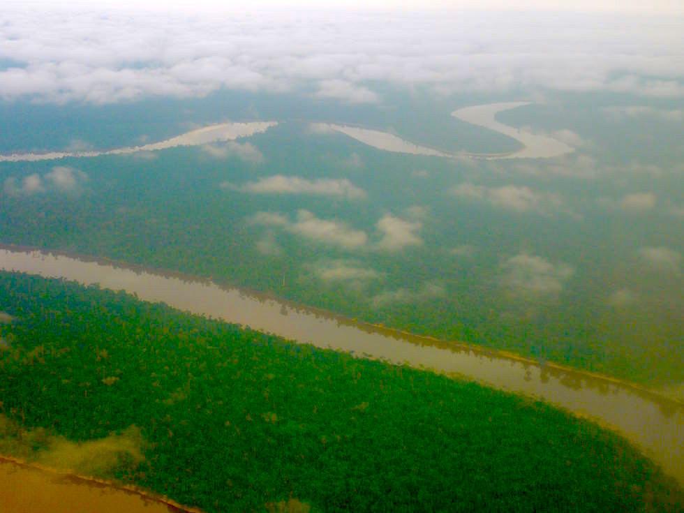 Amazonas von oben - Abenteuer Amazonas Dschungel Tour - Peru