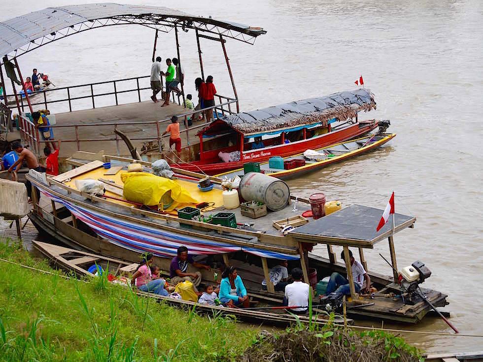 Bootsanleger Nauta - Abenteuer Amazonas Dschungel Tour - Peru