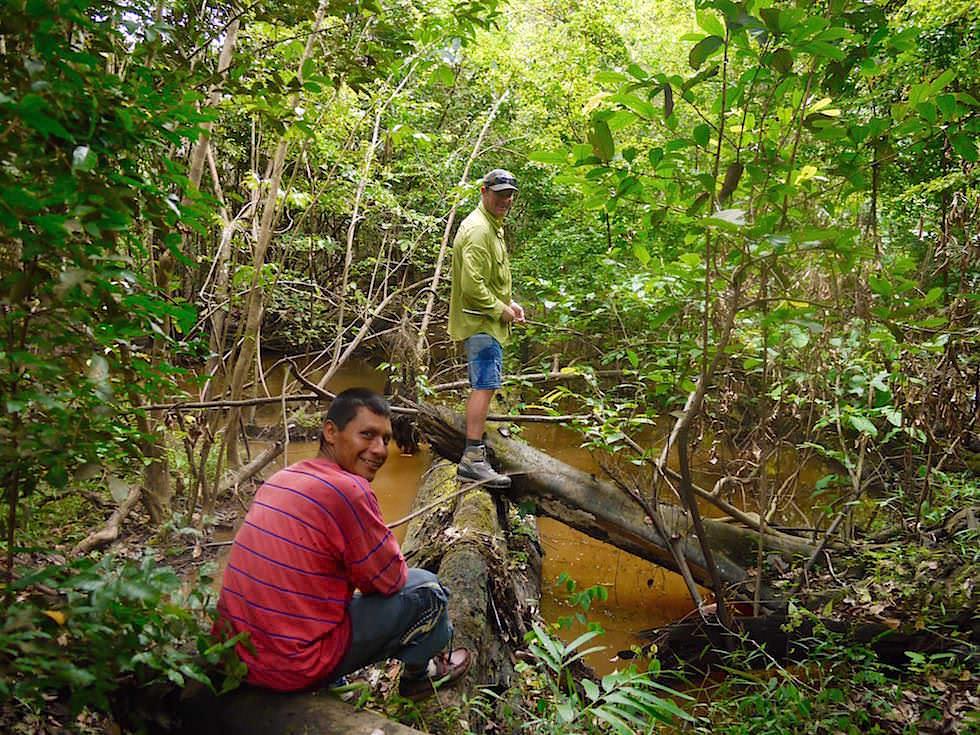 Angeln im Dschungel - Abenteuer Amazonas Dschungel Tour - Peru